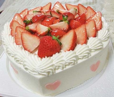 森田恵子さんのバースデーケーキ