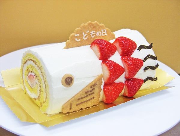 子供の日用ロールケーキ