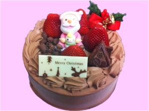 クリスマスケーキ-チョコレート