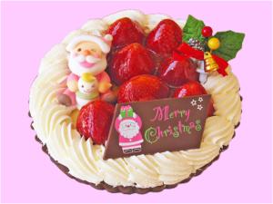 クリスマスケーキ-いちごのタルト