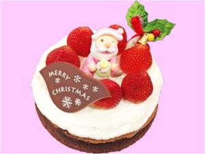 クリスマスケーキ-蒸しショコラ
