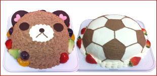デコレーションケーキのイメージ